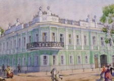 Особняк Архипова: домик с акварели.