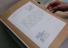 Прием документов на хранение