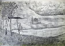 «Неизвестный» художник, поэт и воин Банников Илья