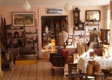 Музей в Миньяре. Интересный экспонат - лапоть для лошади