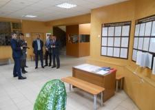 Первый зам.губернатора Е. В. Редин и зам.губернатора В. М. Евдокимов посетили архив