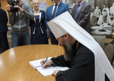 Челябинская епархия заключила соглашение о сотрудничестве с архивной службой Челябинской области