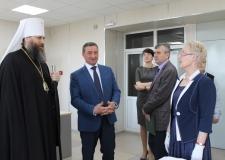 Митрополит Челябинский и Миасский Никодим посетил Объединенный государственный архив