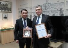 Визит Генерального консула Кыргызстана в архив