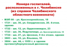 Здравоохранение и состояние общественного здоровья в Челябинской области накануне и в период Великой Отечественной войны